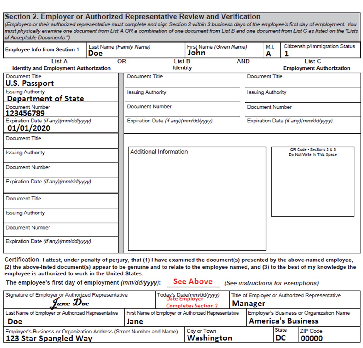 Pdf Form i-9 New