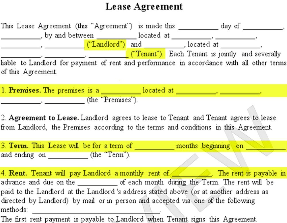 How To Make A Lease Agreement For Student Boarding House Free Job
