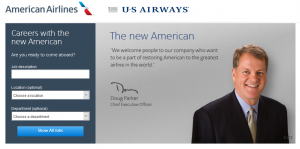 American Airlines Job Application Form