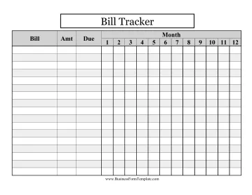 Bill Payment record